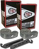 #3: TAC-9 Bike Tubes, 26 x 1.95-2.125