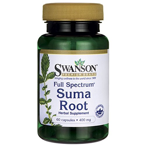 Swanson Full Spectrum Suma Root 400 Milligrams 60 Capsules