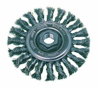 Wire Wheels For Grinder | Osborn 26359 High Speed Small Grinder Standard Twist Knot Wire Wheel