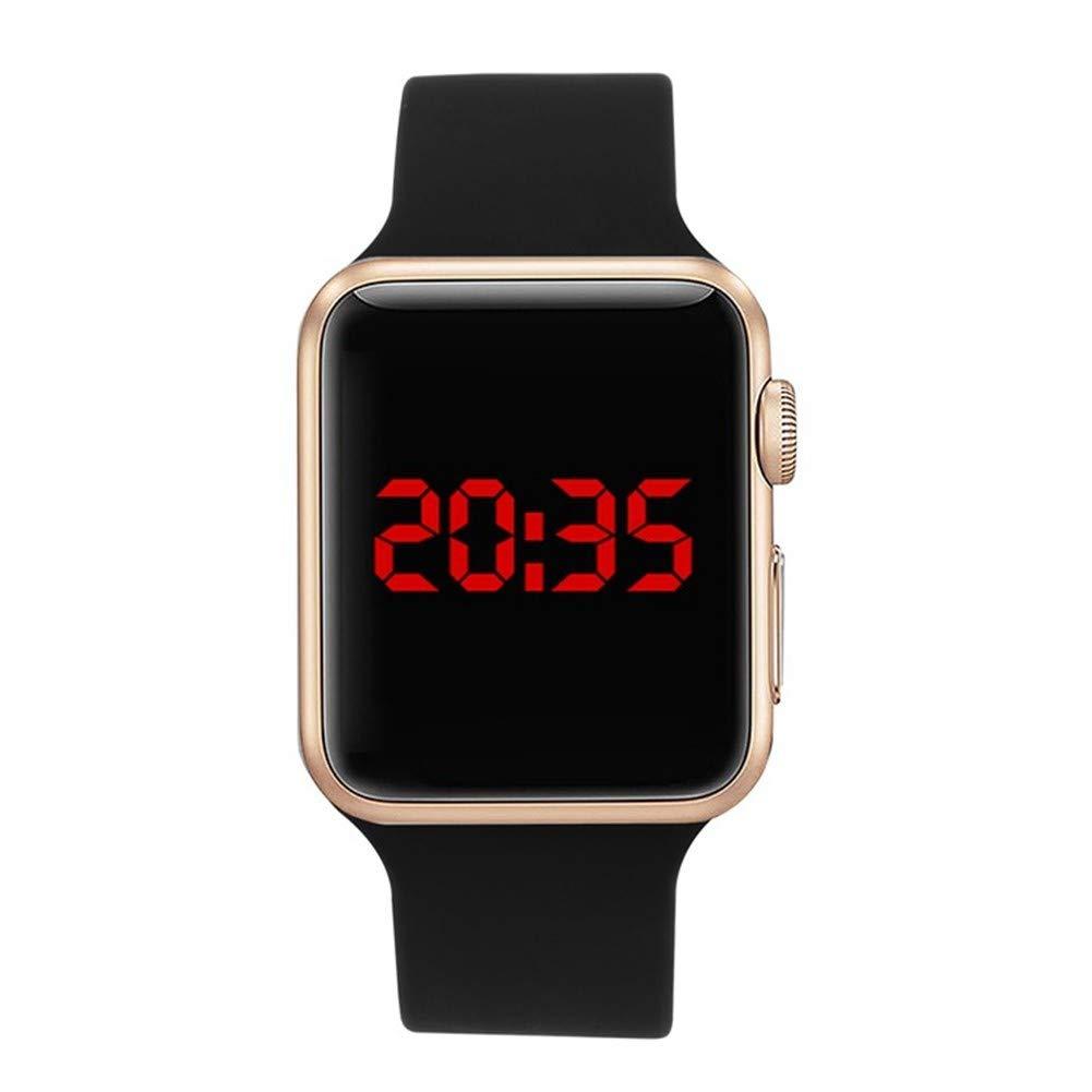 GBVFCDRT Herrenuhren Top-Marke Luxus Military Sports Watch Männer Digital geführte Wasserdichte Armbanduhr Relogio
