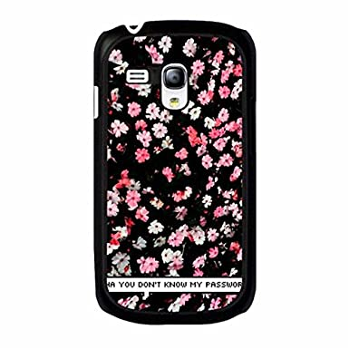 Samsung Galaxy S3 Mini Cute Design Cover Case Dont Touch My Phone