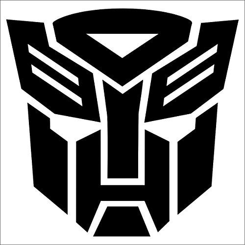 Cove Signs Autobots Sticker/Decal - Black 4
