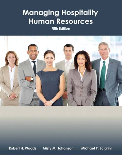 Managing Hospitality Human Resources With Answer Sheet  Ahlei   5Th Edition   Ahlei   Hospitality Supervision   Human Resources