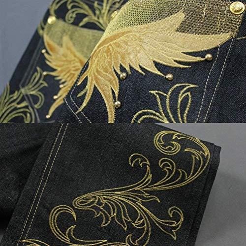 Nero Convenzionali Eleganti Coreana Dei Slim Tagliati Alta Matita Moda Estate Di Alla Della Solido Pantaloni Vita A Casuali Fit Colore Hnq6S4S1