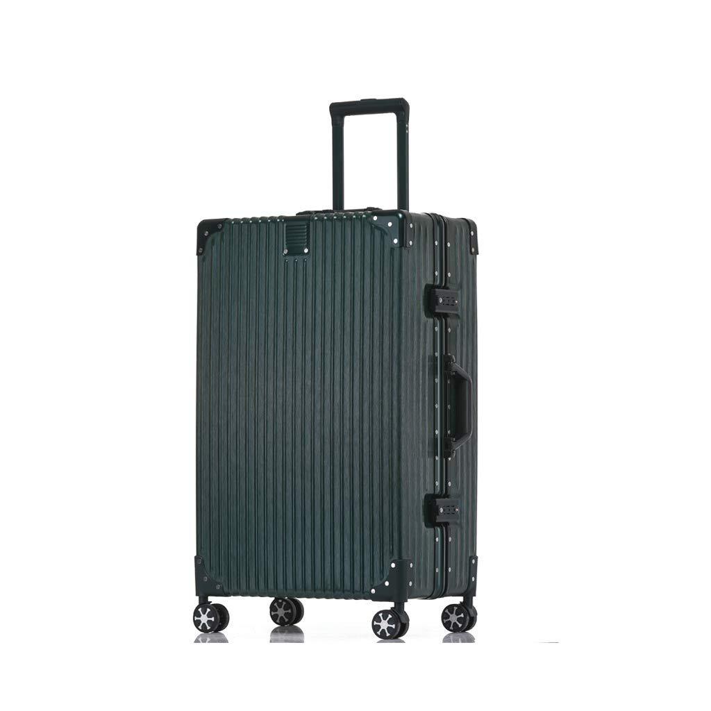 荷物、超軽量フルトランスペアレントスーツケースユニバーサルホイール搭乗シャーシトロリーケースパスワードボックス (サイズ さいず : 80cm)   B07JKX85NT