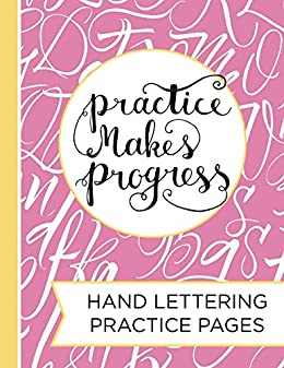 Hand Lettering Practice Pad: A Blank Canvas for Creative