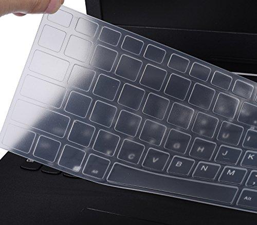 Keyboard Skin for ASUS K501UX K501LX GL551JM GL551JW GL552VW GL552JX Q503UA Q552UB Q553UB Q524UQ Q534UX F554 F554LA F555 F555LJ F555LB F555LD R556LA N551JQ X550ZA X751LAV GL752VW, Clear