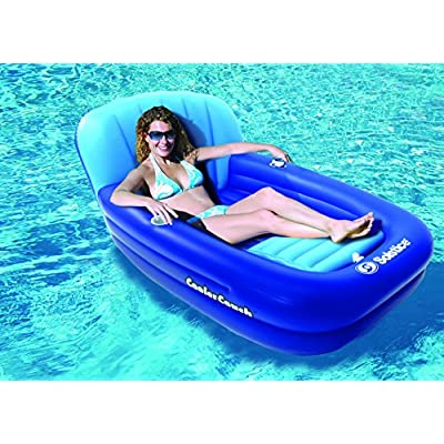 Solstice by Swimline Cooler Couch Inflatable Pool Lounger: Toys & Games