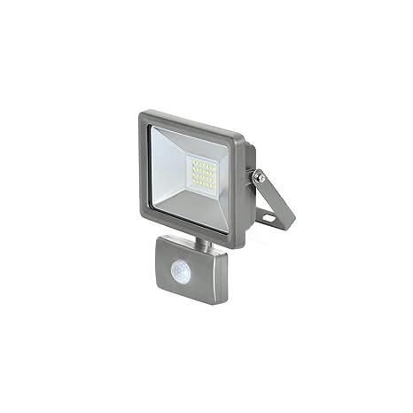 Ribitech Proyector LED con sensor, Gris: Amazon.es: Iluminación