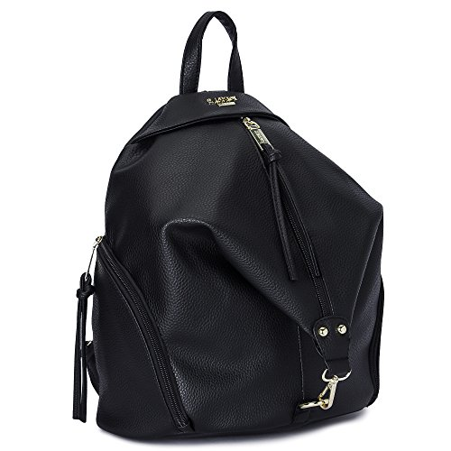 Cathy London Women's Black Backpack