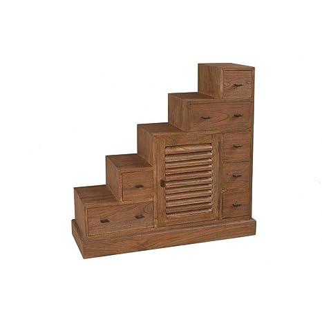 Mueble Escalera 7 cajones Laura en Mindi Estilo Colonial ...
