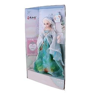 Baoblaze 1/4 Vinyl Dolls Fashionista Girl Fashion Doll Princess Kids Toys Birthday Gift #6