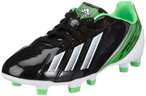 adidas Performance F10 TRX FG J G65352 Jungen Fußballschuhe Schwarz (BLACK 1 / RUNNING WHITE FTW / GREEN ZEST S13)