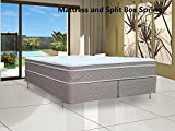 Fully Assembled Orthopedic Mattress and Split Box Spring