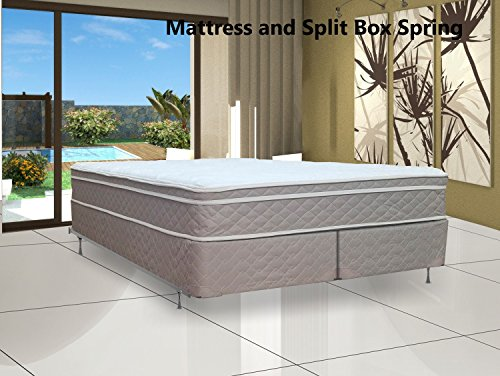 Fully Assembled Orthopedic Mattress and Box Spring by Spinal Solution