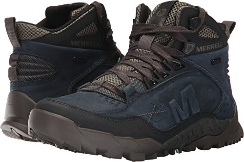 Merrell Men's Annex Trak Mid Waterproof Hiking Boot, Sodalite, 10.5 M US