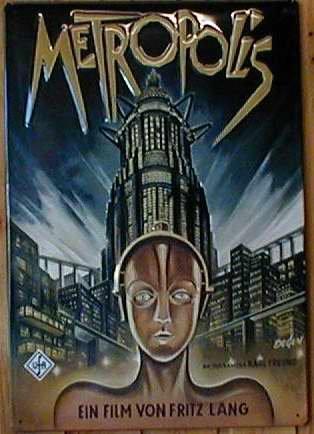 Diseño de Metropolis (2) la película Retro Greg escudo placa ...
