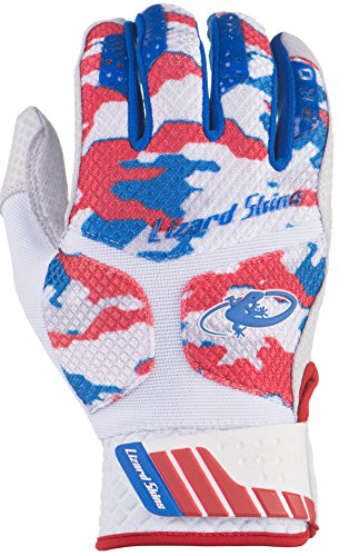 Lizard Skins Komodo Pro Adult Batting Gloves (Patriot Camo, - Away Adult Batting Glove