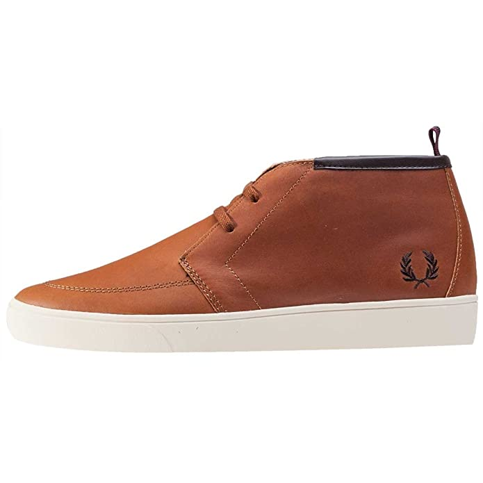 Fred Perry Byron Mid Leather B9081325, Chaussures de Ville - 41 EU