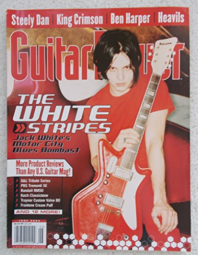 Guitar Player Magazine, Issue 401, Volume 37, No. 6, June 2003 - Jack White, The White Stripes front cover