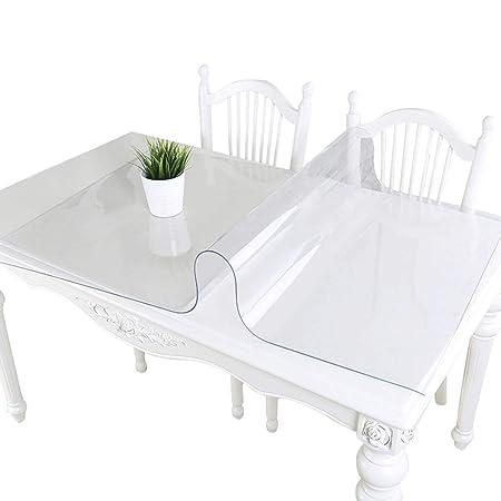 Grueso 1.5 mm Transparente Cubierta de mesa de PVC Protector De ...