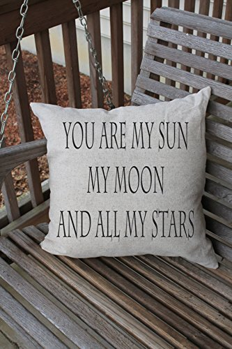 You are Sun Moon Stars Pillowcases, Pillow Cushion Cover, Gift for Her, Him, Gift fot Girlfriends, 16 x - India Police Frames