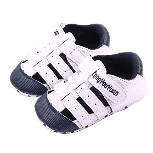 Igemy 1 Paar Baby Mädchen Sandalen Schuh Casual Schuhe Sneaker Anti-Rutsch Soft Sole Kleinkind Marine