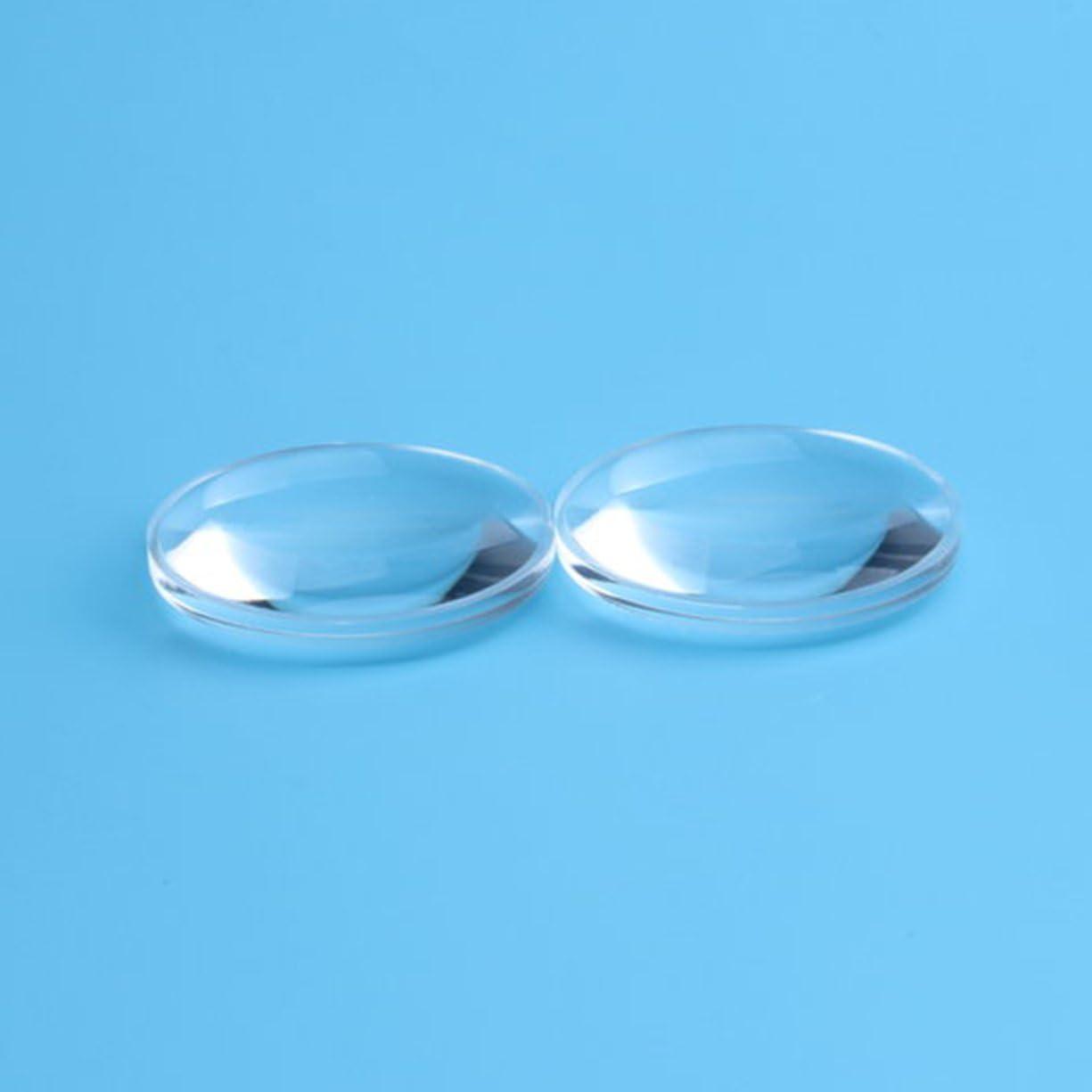 1PCS 37mm Dia Double Aspheric Convex Lens 45mm Focal Length Virtual Reality VR Biconvex Lens Optics Lens for Camera Projector