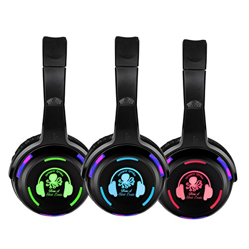 Factory Sell Silent Disco led Headphone Complete System (50 led Headphone + 2 Transmitter)]()