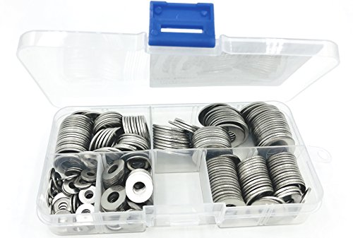 stainless nut washer kit - 8