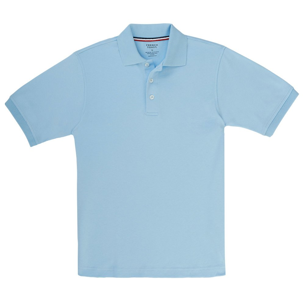 French Toast Boys Short Sleeve Interlock Polo SA9086