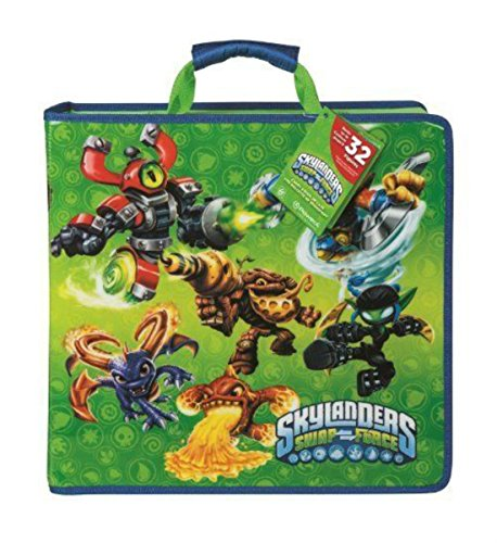 SKYLANDERS - (Green) Power A: SWAP Force Carry and Display Case