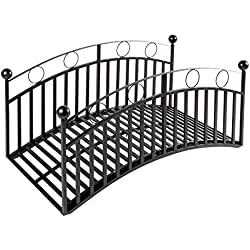 "Wrought Iron Steel Garden Bridge - 48"" L x 22"" W x 25"" H"