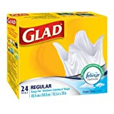 Glad 30226 Trash Bags, 24 Count