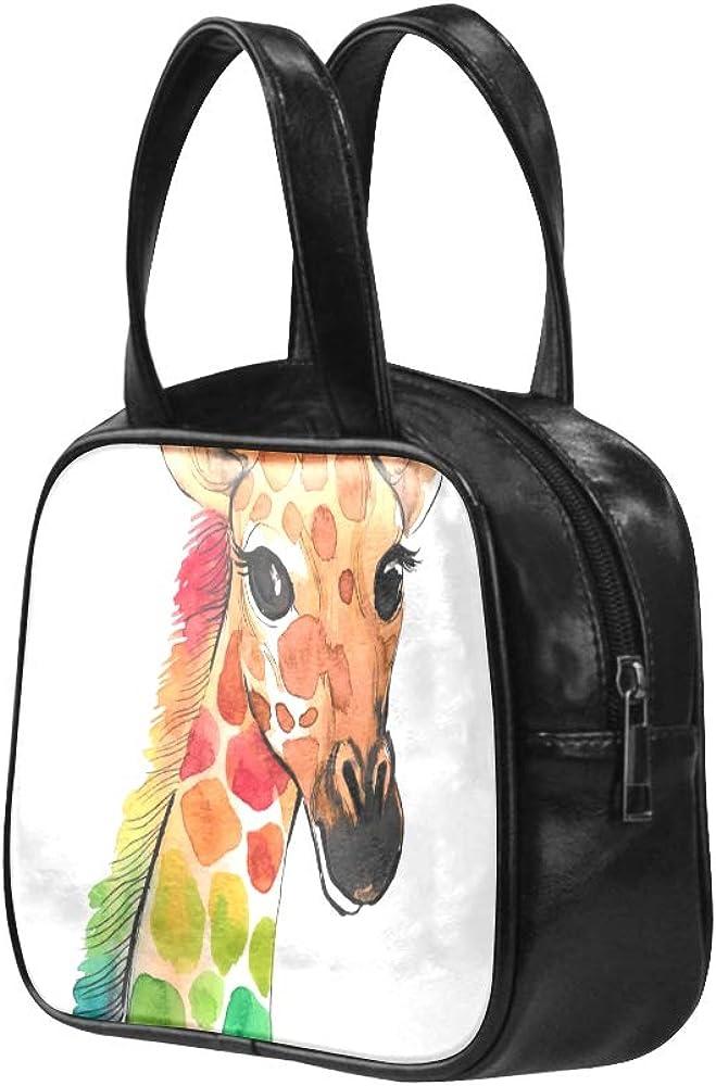 Fashion Classic Bag Very Tall Animal Gigantic Deer Zipping Tote Bag Womans Bag Pu Leather Top Handle Satchel Men Handbags