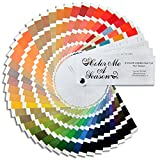Color Me seasonal ALL 4 SEASONAL SWATCH FANS: Winter, Spring, Summer, Autumn