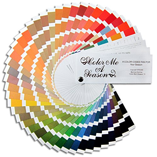 Color Me seasonal ALL 4 SEASONAL SWATCH FANS: Winter, Spring, Summer, Autumn by Unknown