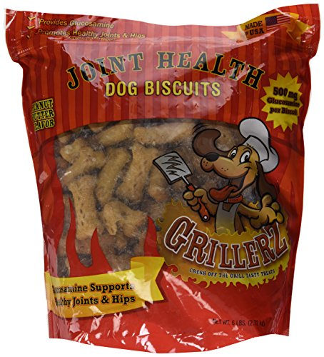 Glucosamine Biscuits Dog (Scott Pet Products Joint Health Biscuit Treat, 6 lb)