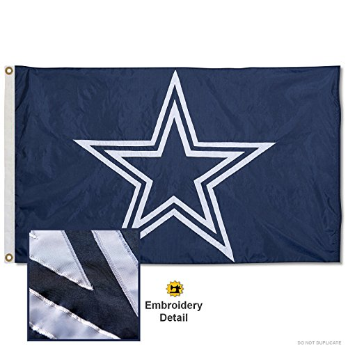 Wincraft Dallas Cowboys Embroidered Nylon Flag