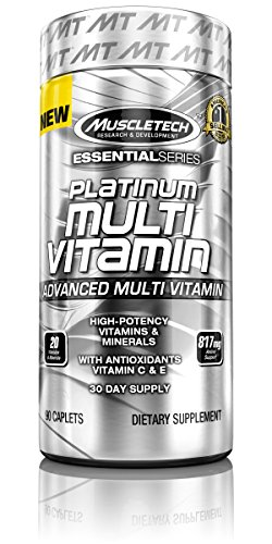 MuscleTech Platinum Multi-Vitamin, Advanced Multi-Vitamin Fo
