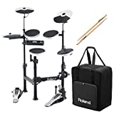 Best ROLAND Electronic Drum Sets - Roland V-Drums TD-4KP Portable Electronic Drum Set w/ Review