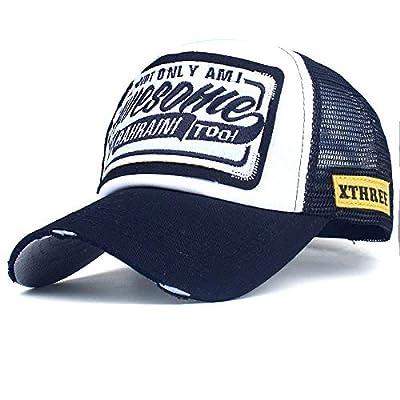 Baseball Cap,Unisex Embroidered Print Ball Cap Hip Hop Dad Hat Outdoor Running Trucker Hat