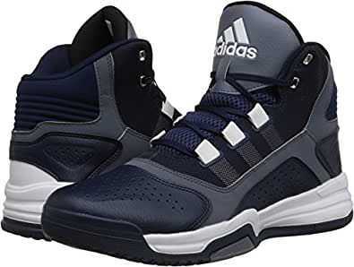 adidas Men's Amplify Collegiate Navy/Onix/White 13.5 D US