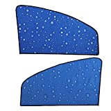 Side Window Sunshades, Acouto Car Window Shades-Car Sun Shades-Blocks Harmful UV Rays Sun Glare Heat-Fits Most Cars (1 Pair * Left/Right Window Curtain)