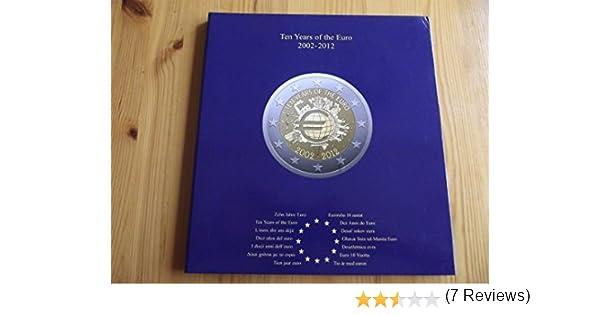Leuchtturm 341622 Álbum para Monedas PRESSO, Euro-Collection para ...