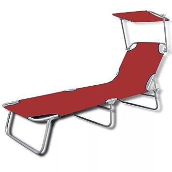 Fesjoy Fauteuils Avec Longue Pliable Chaise Balancelle D'extérieur UVpqSjLzMG