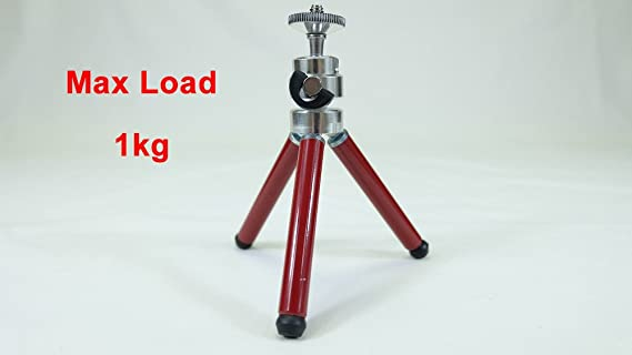 Caliente Flexible Tripode Mini trípode para cámara soporte trípode ...