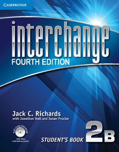 Interchange Level 2 Student's Book B with Self-Study DVD-ROM and Online Workbook B Pack