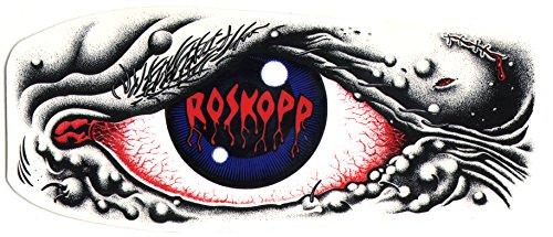 Santa Cruz Rob Roskopp Eye Skateboard Sticker - 15cm wide...