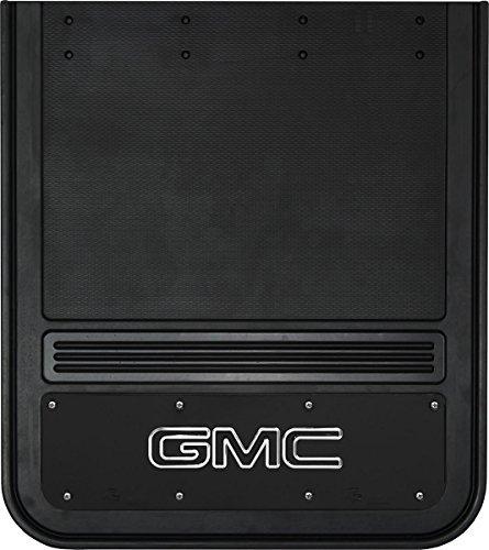 Gatorback Gmc Sierra Truck Mud Flaps Rear Dually Pair 21x24 Black Wrap